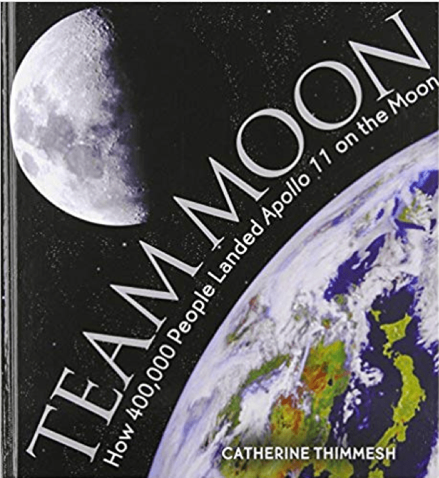 Book cover featuing an image of earth from space