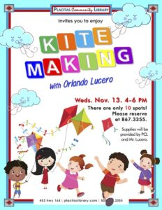 kite making with orlando lucero