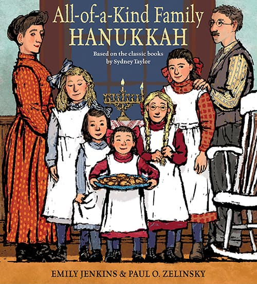 All of a kind family book cover