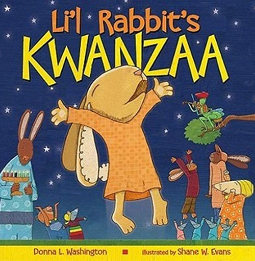 Lil rabbits kwanzaa Book Cover