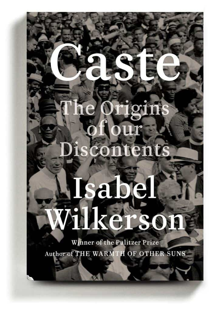 """Book Cover of """"Caste"""" by Dr. Isabel Wilkerson"""