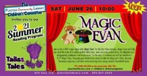 Summer Reading Program magic show at PCL